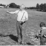 1973 kite with son
