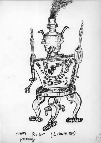An old steam robot (Louis XIX)
